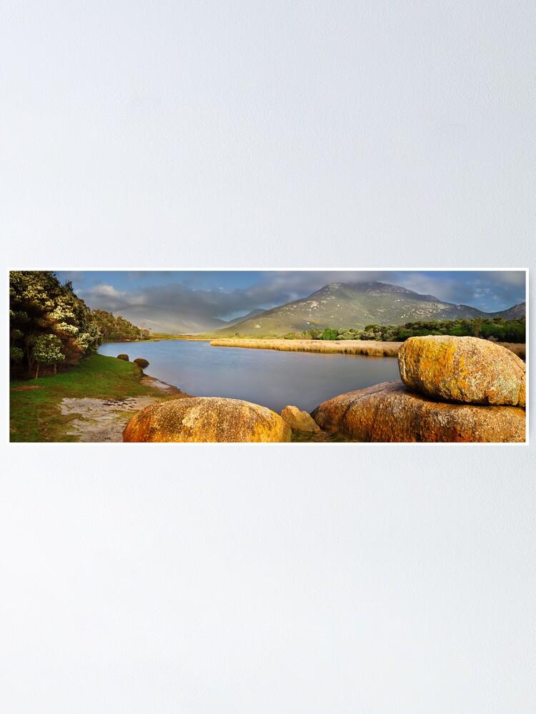 Alternate view of Tidal River, Wilsons Promontory, Victoria, Australia Poster