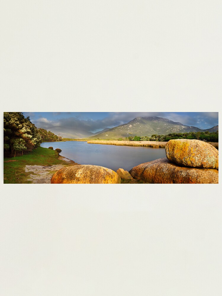 Alternate view of Tidal River, Wilsons Promontory, Victoria, Australia Photographic Print