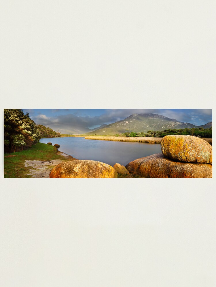 Alternate view of Tidal River, Wilsons Promontory, Victoria, Australia Photographic Print