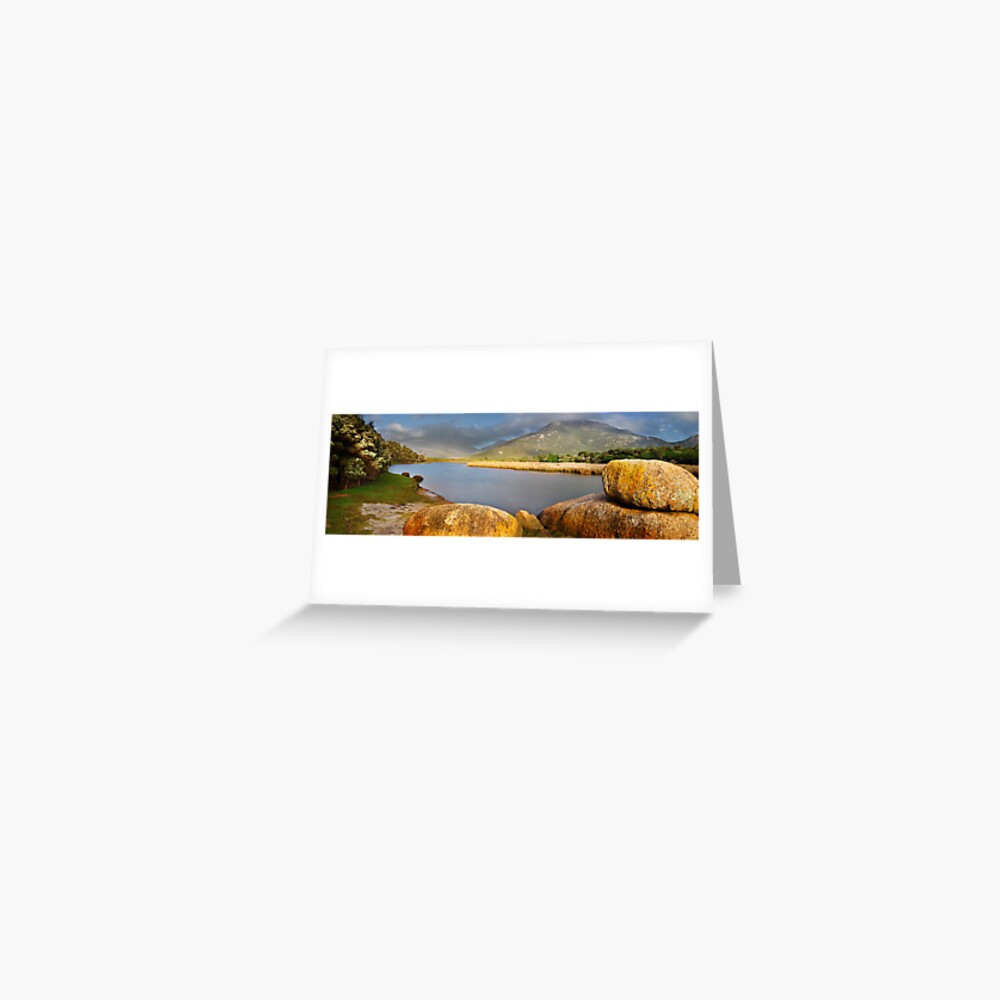 Tidal River, Wilsons Promontory, Victoria, Australia Greeting Card