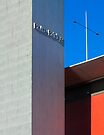 Bolte Bridge Blue (and Vermilion) by Vince Russell