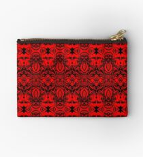 Tribal Chaos Red Studio Pouch