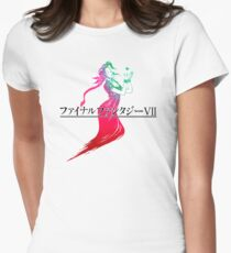 Aerith's Lifestream Womens Fitted T-Shirt