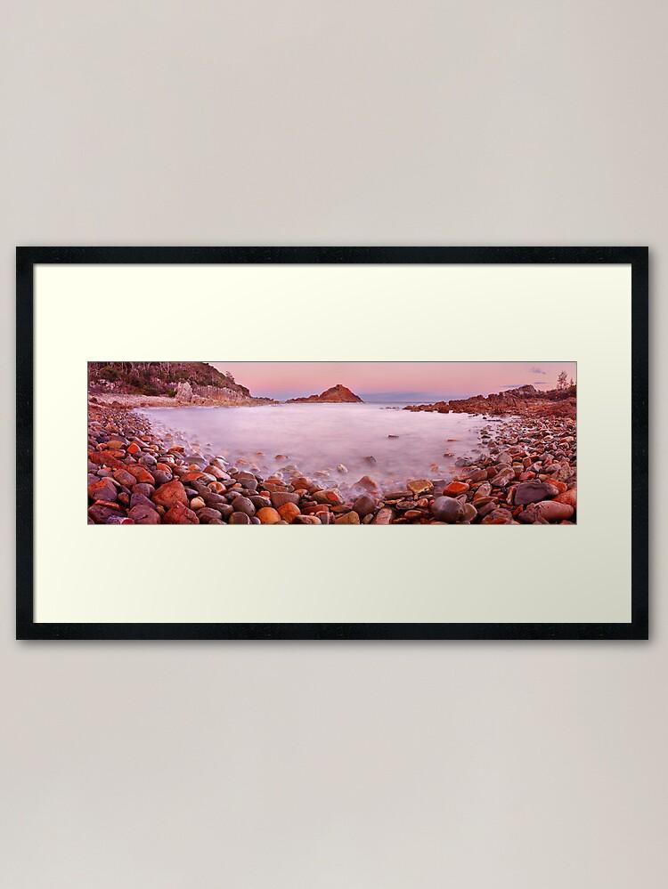 Alternate view of Mimosa Rocks National Park, New South Wales, Australia Framed Art Print