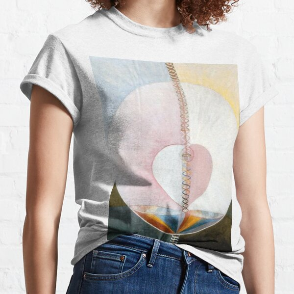 What a Human Being Is (1910) - Hilma af Klint Classic T-Shirt