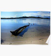 North Creek Ballina NSW Poster