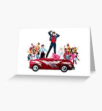 Grease is the Word Greeting Card