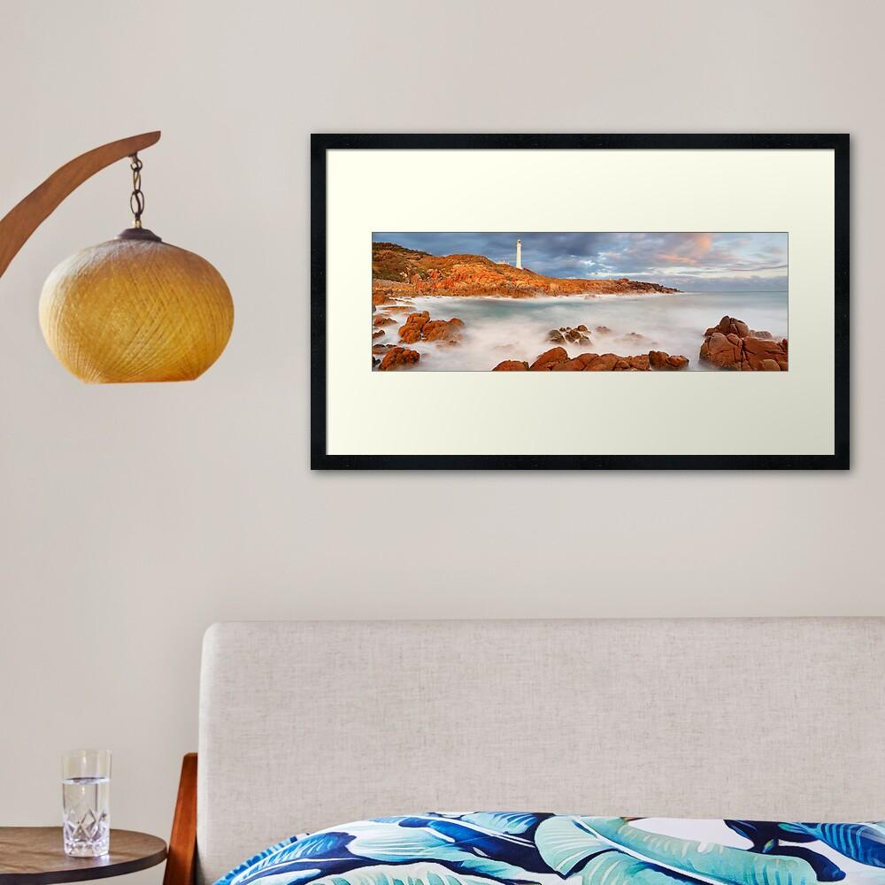 Point Hicks Lighthouse, Croajingolong National Park, Victoria, Australia Framed Art Print