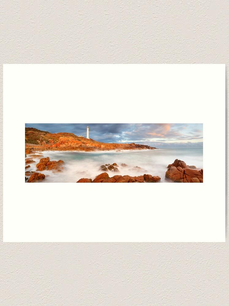 Alternate view of Point Hicks Lighthouse, Croajingolong National Park, Victoria, Australia Art Print