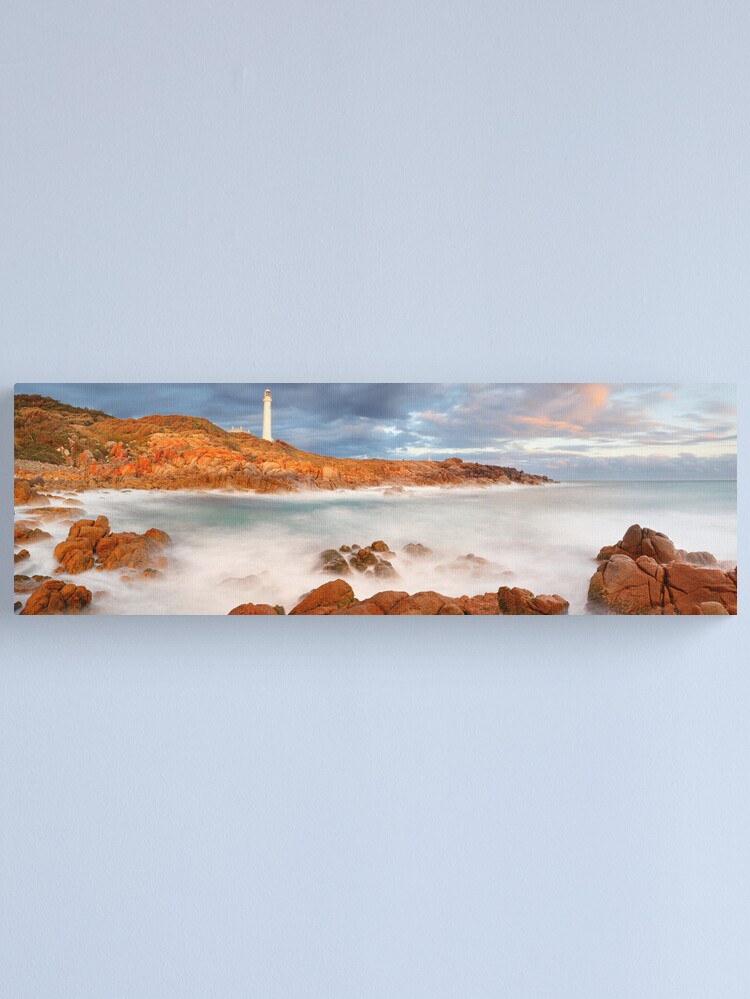 Alternate view of Point Hicks Lighthouse, Croajingolong National Park, Victoria, Australia Canvas Print