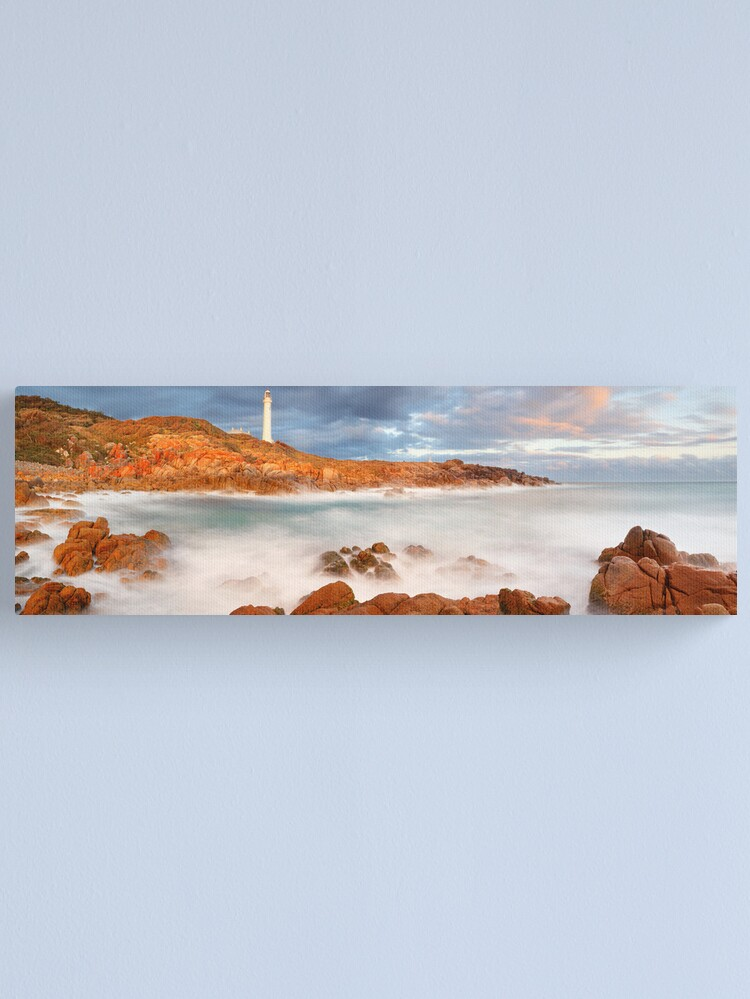 Alternate view of Point Hicks Lighthouse, Croajingolong National Park, Victoria, Australia Canvas Print