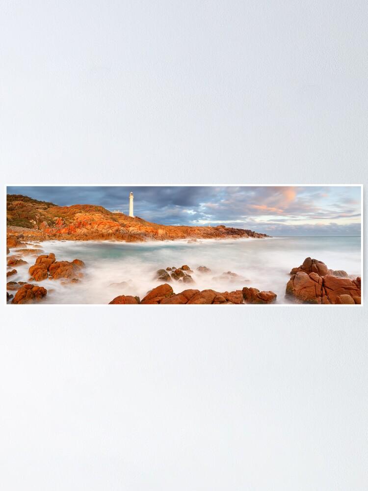 Alternate view of Point Hicks Lighthouse, Croajingolong National Park, Victoria, Australia Poster