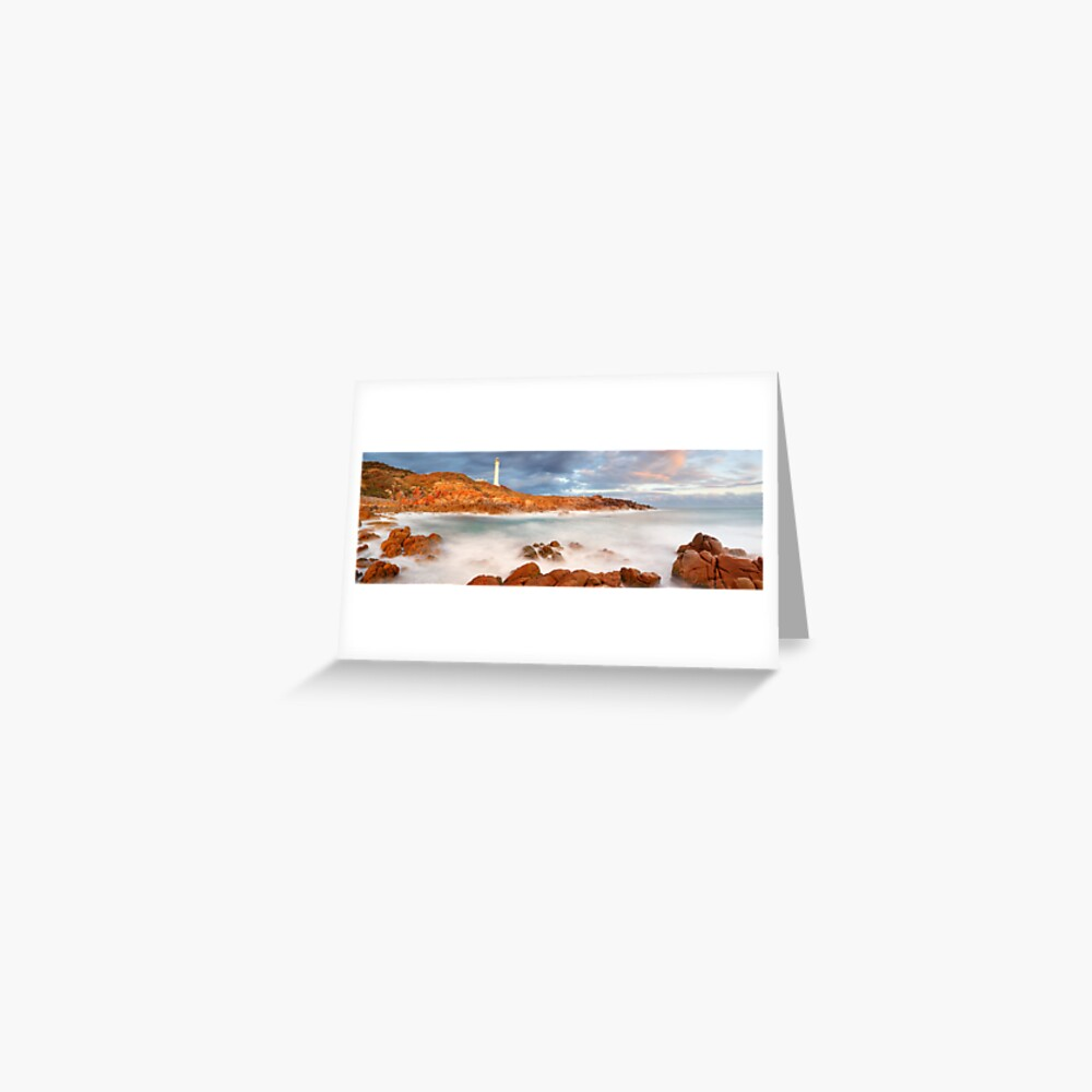 Point Hicks Lighthouse, Croajingolong National Park, Victoria, Australia Greeting Card