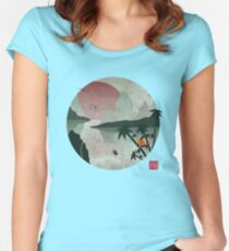 Two Of Seven Women's Fitted Scoop T-Shirt