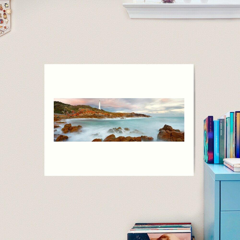 Point Hicks Lighthouse, Croajingolong National Park, Victoria, Australia Art Print