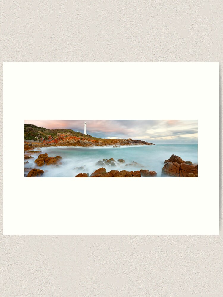 Alternate view of Point Hicks Lighthouse, Croajingolong National Park, Victoria, Australia Art Print