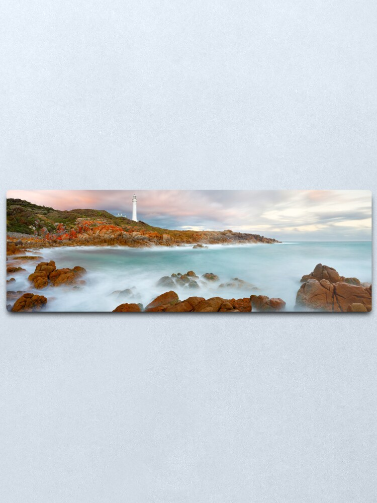 Alternate view of Point Hicks Lighthouse, Croajingolong National Park, Victoria, Australia Metal Print
