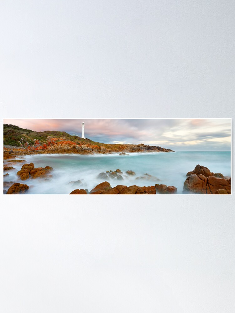 Alternate view of Point Hicks Lighthouse, Croajingolong National Park, Victoria, Australia Poster