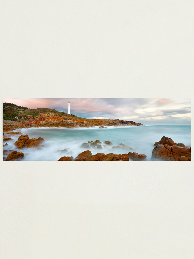 Alternate view of Point Hicks Lighthouse, Croajingolong National Park, Victoria, Australia Photographic Print