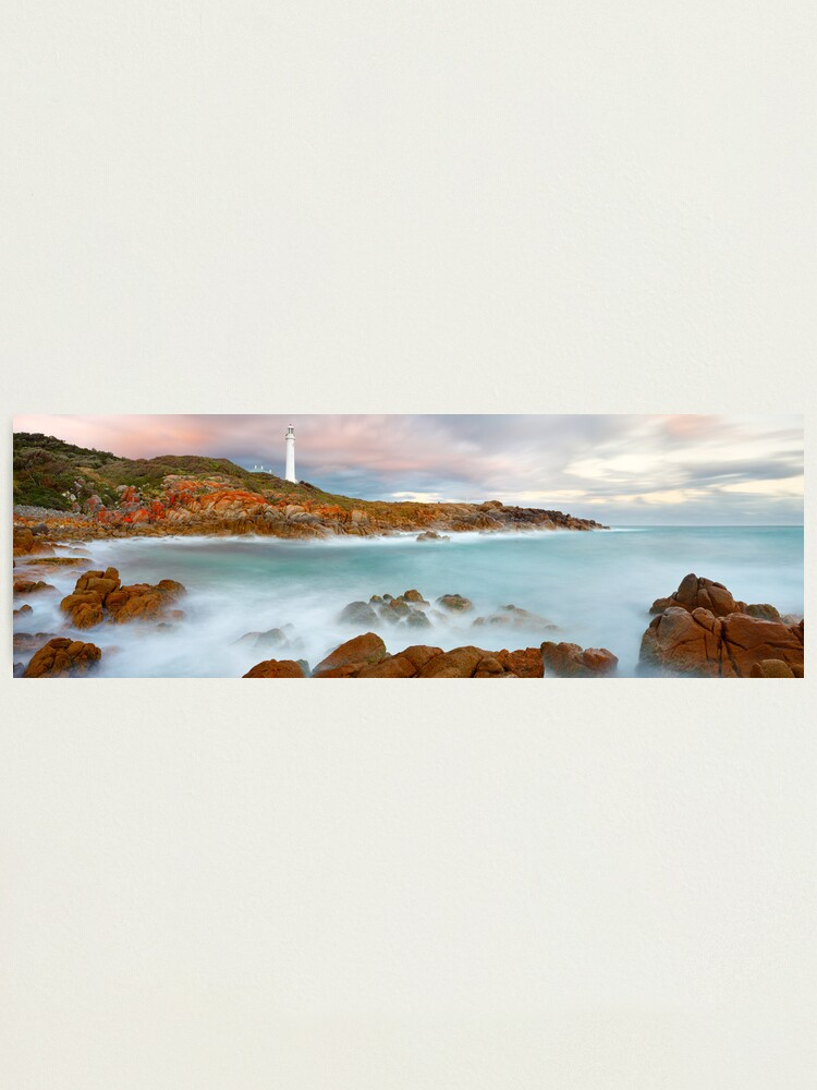 Alternate view of Point Hicks Lighthouse, Croajingolong National Park, Victoria, Australia Photographic Print