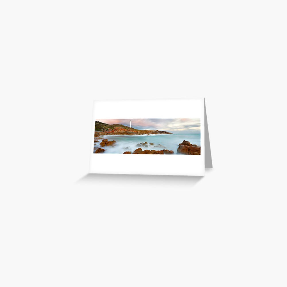 Point Hicks Lighthouse, Croajingolong National Park, Victoria, Australia Greeting Card