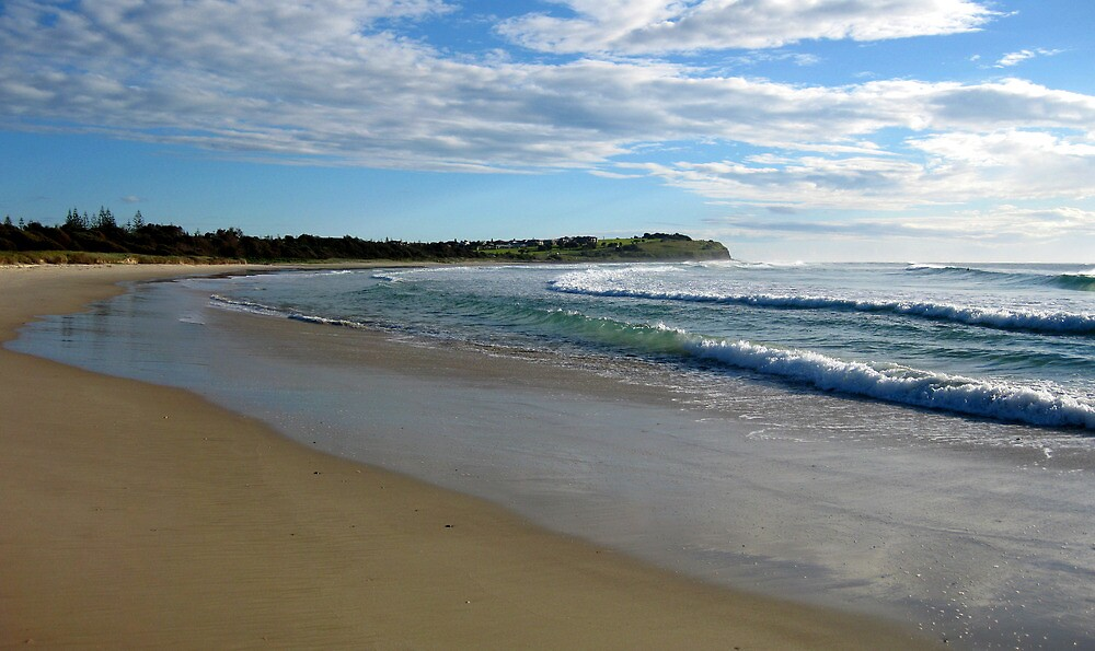 Sharpes Beach Ballina NSW by Emmy Silvius