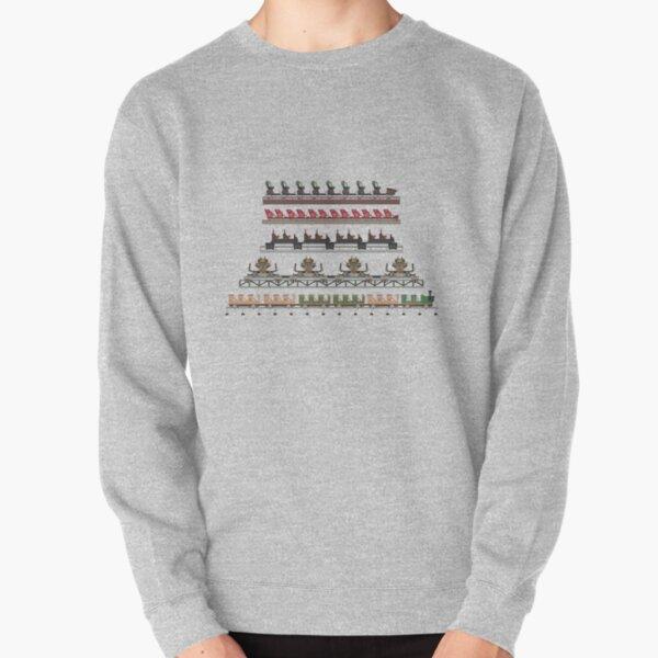 Silver Dollar City Coaster Trains Design Pullover Sweatshirt