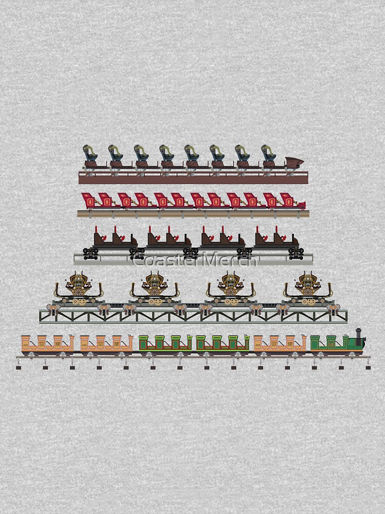 Silver Dollar City Coaster Trains Design by CoasterMerch
