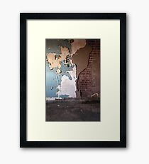 Layer by Layer..... Framed Print