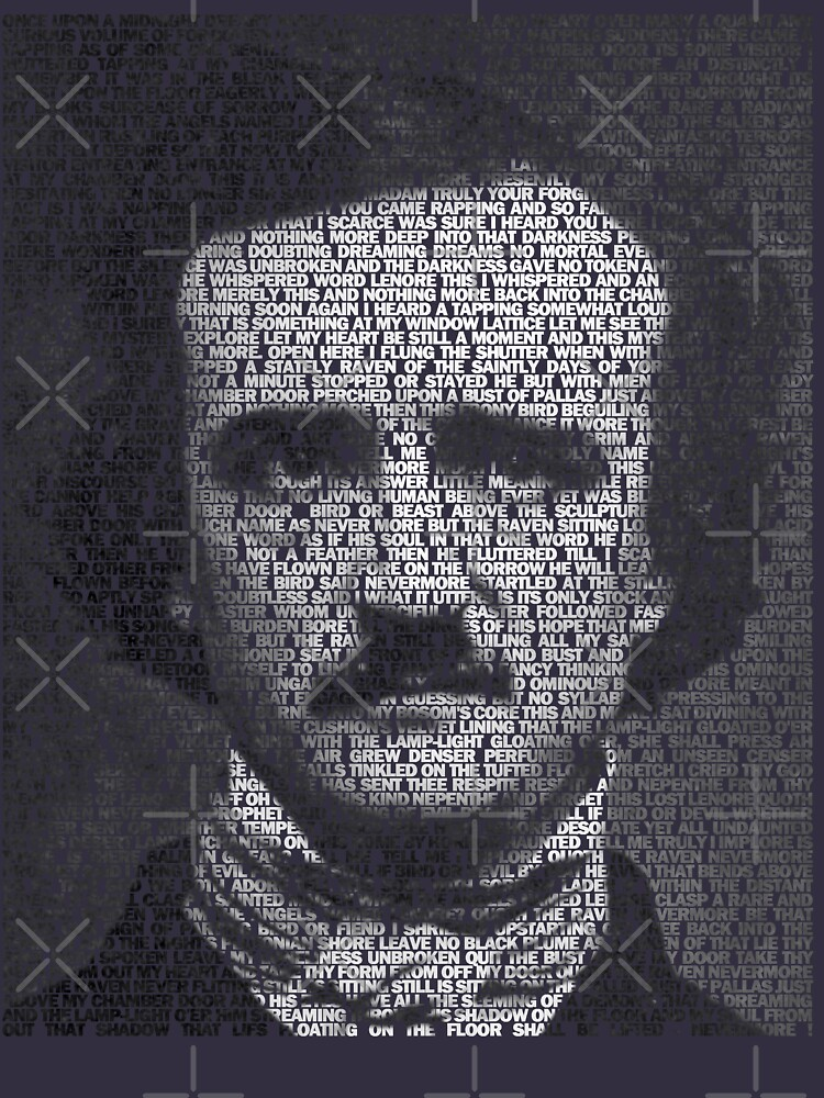 The Raven - Edgar Allan Poe | Unisex T-Shirt