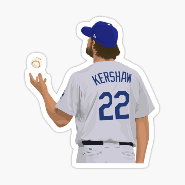 Clayton Kershaw 22 Sticker