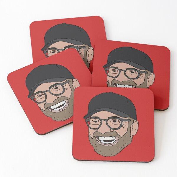Jurgen Klopp Liverpool's 'The Normal One' Coasters (Set of 4)