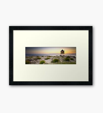 The Entrance Life Guard Tower Framed Print