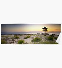 The Entrance Life Guard Tower Poster