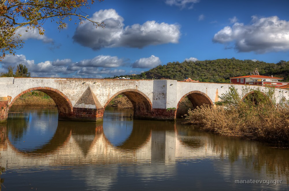Roman Bridge Silves by manateevoyager