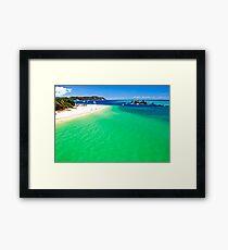 Tangalooma Wrecks (November 2012) Framed Print