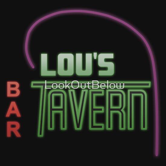 TShirtGifter presents: Lou's Tavern  | Unisex T-Shirt