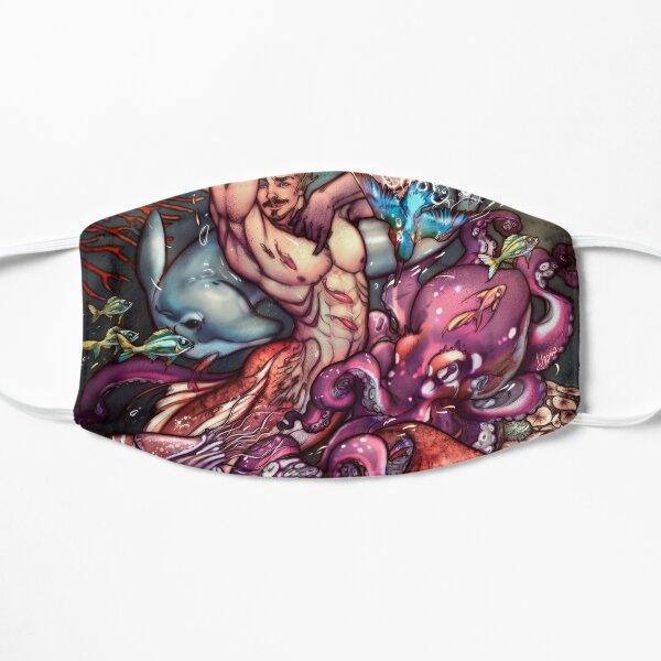 Merman Aquarius Flat Mask