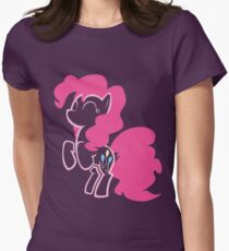 Pinkie Pie Women's Fitted T-Shirt