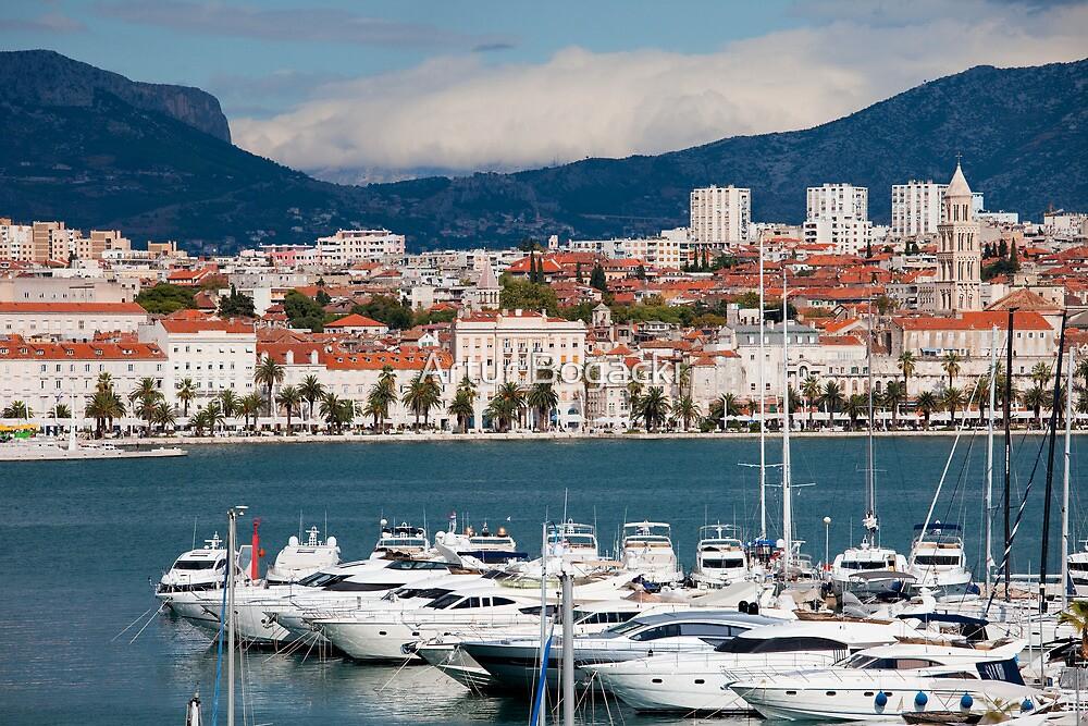 Split Cityscape by Artur Bogacki