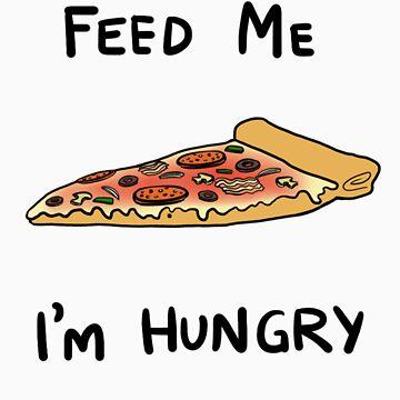 Feed me, I'm hungry by julgommar
