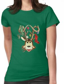 Reindeer Antlers and Christmas Stockings T-Shirt