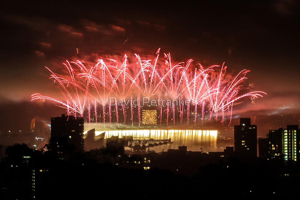 2013 Sydney Fireworks by David Petranker