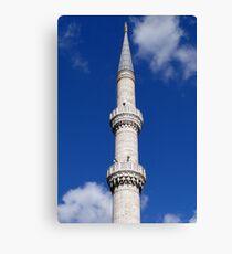 Turkish Minaret Canvas Print