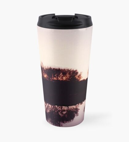 Windmill sunset Travel Mug