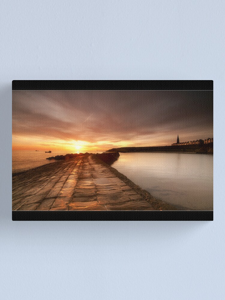 Alternate view of Cullercoats Canvas Print