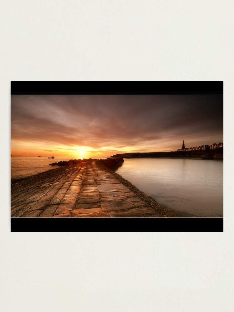 Alternate view of Cullercoats Photographic Print