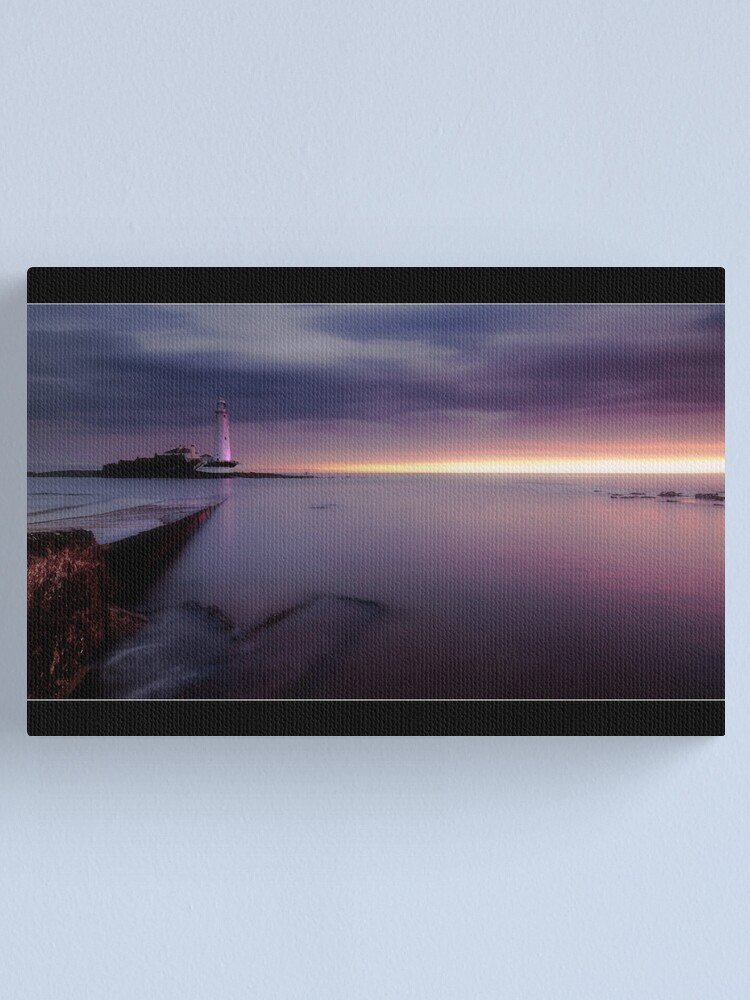 Alternate view of St Mary's Lighthouse Canvas Print