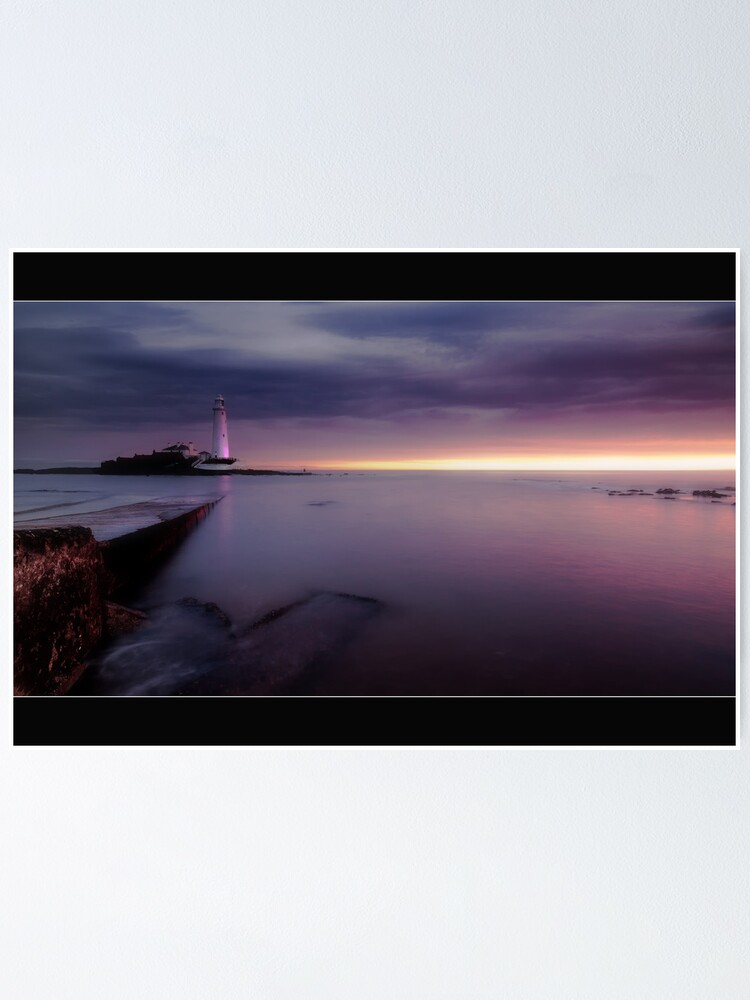 Alternate view of St Mary's Lighthouse Poster