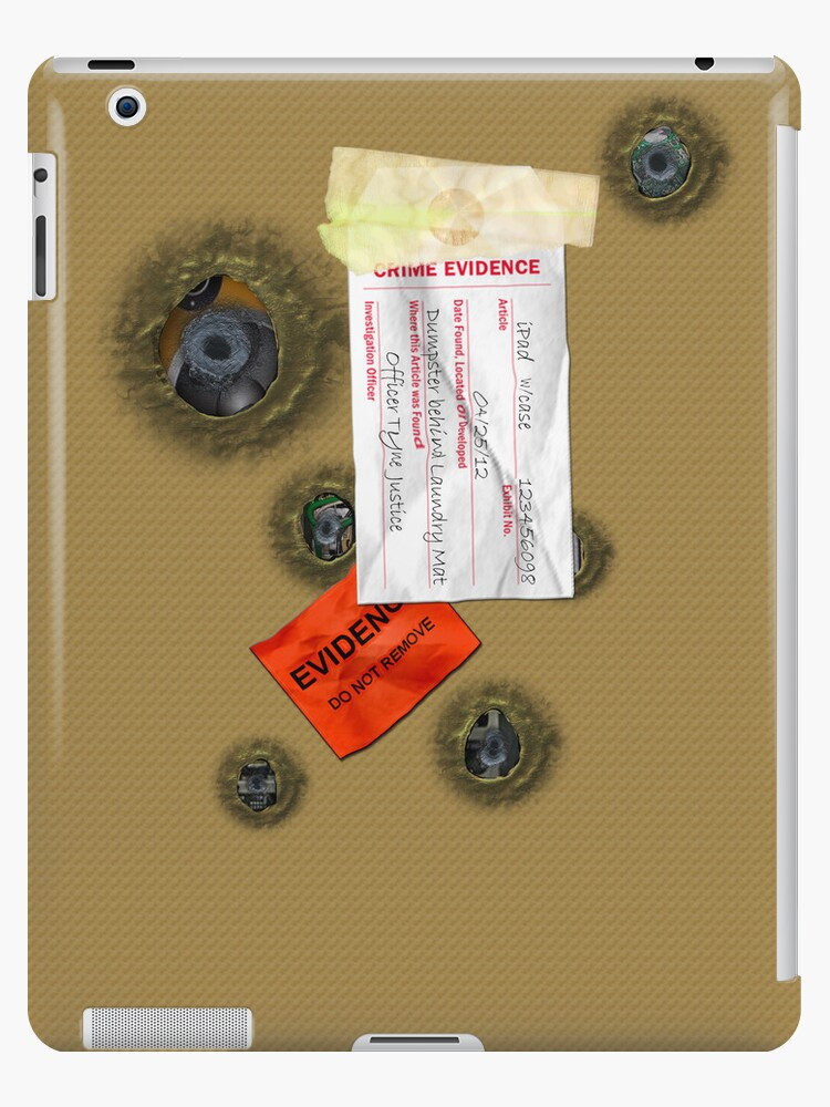 Evidence iPad Case by tapiona
